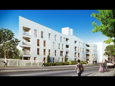 Appartement neuf, 40,44 m²