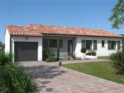 Maison neuve, 79 m²