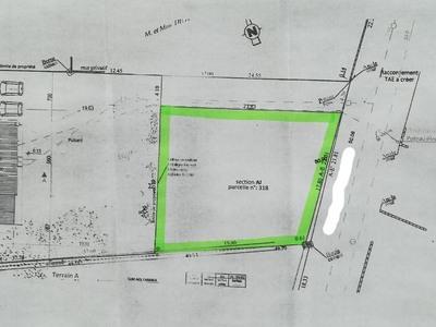 Terrain à bâtir, 400 m²