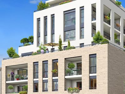 Appartement neuf, 86,75 m²
