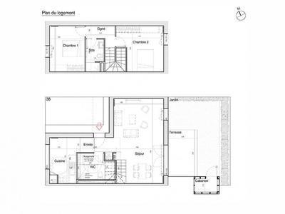 Appartement neuf, 41 m²