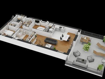 Maison neuve, 69 m²