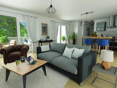 Appartement neuf, 109 m²