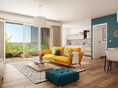 Appartement neuf, 62,6 m²