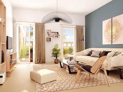 Appartement neuf, 57,41 m²