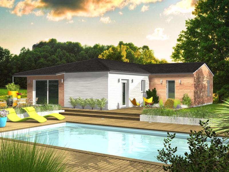 clairlande izon maisons de 4 pi ces 188600 superimmoneuf. Black Bedroom Furniture Sets. Home Design Ideas
