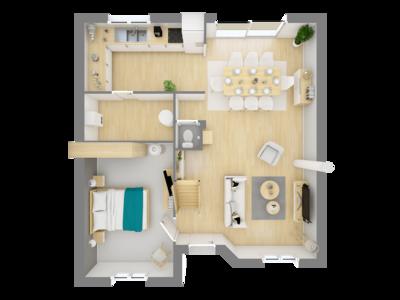 Maison neuve, 117,12 m²
