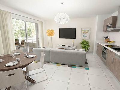 Appartement neuf, 37,6 m²