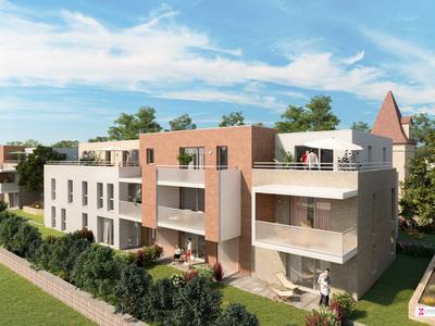 Appartement neuf, 25,1 m²