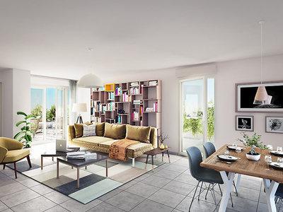 Appartement neuf, 56,7 m²