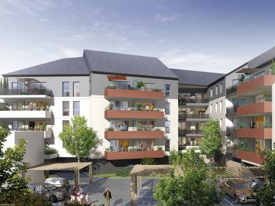Appartement neuf, 83,34 m²
