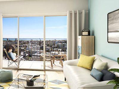 Appartement neuf, 65,4 m²