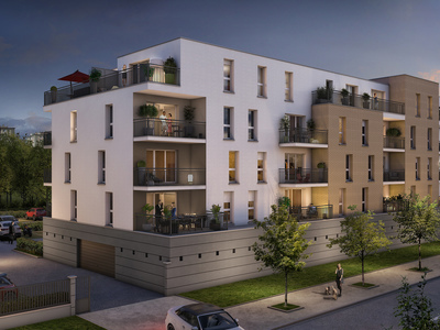 Appartement neuf, 61,3 m²