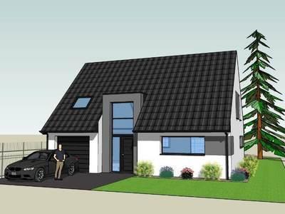 Terrain à bâtir, 654 m²