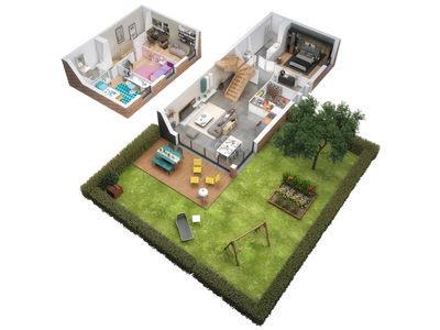 Appartement neuf, 93,18 m²