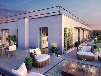 Appartement neuf, 61,7 m²