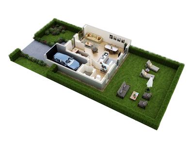 Appartement neuf, 40,82 m²