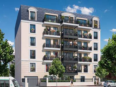 Appartement neuf, 61,6 m²