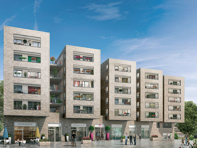Appartement neuf, 62,4 m²