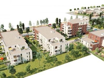 Appartement neuf, 42,28 m²