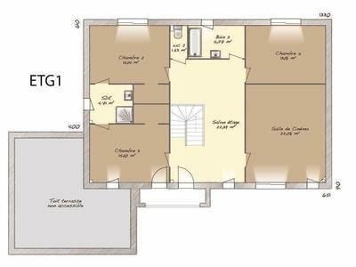 Maison neuve, 242 m²
