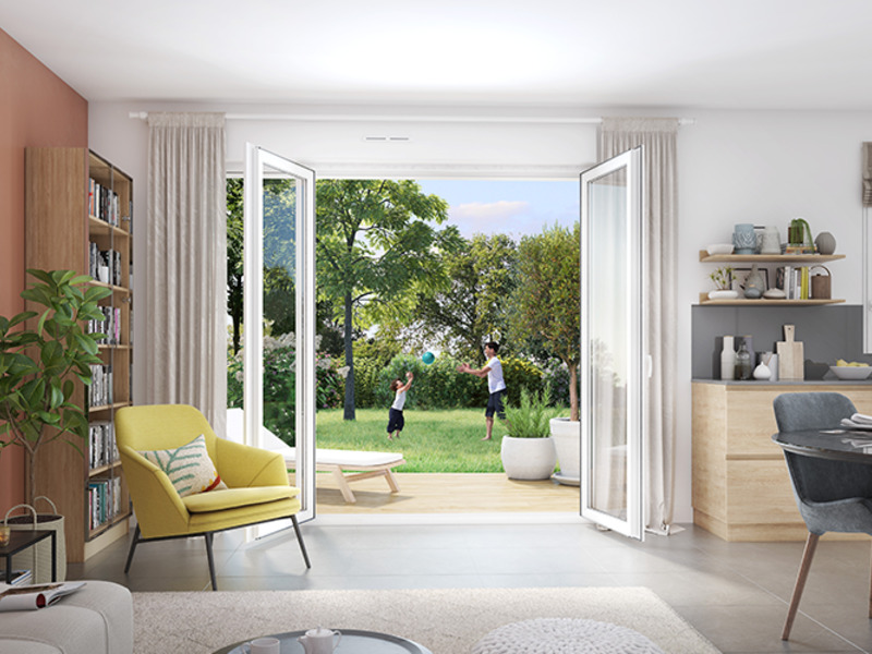 Appartement neuf, 99 m²