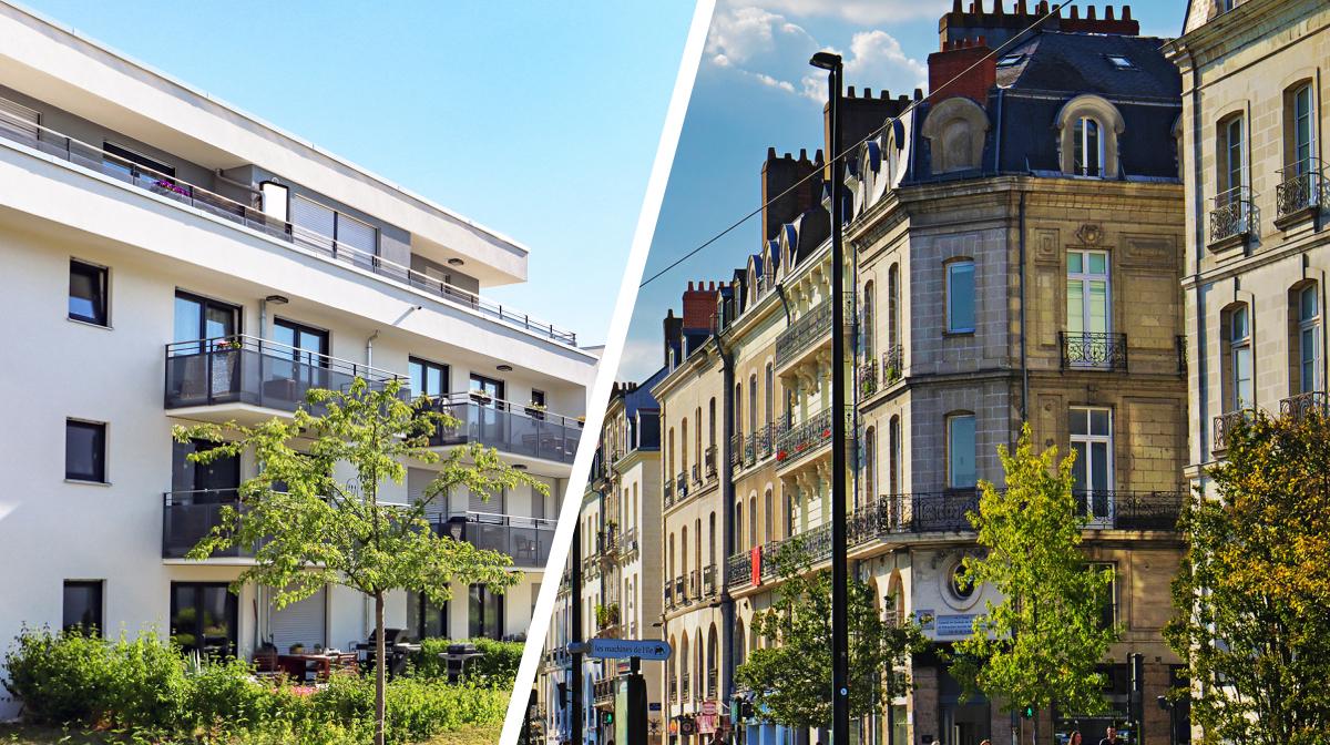 Immobilier neuf vs. ancien
